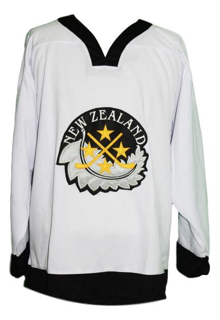 Dittman  32 team ireland custom retro hockey jersey white   1