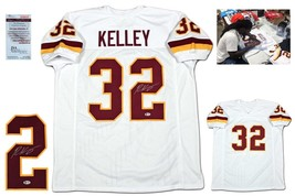 Rob Kelley Autographed SIGNED Jersey - Beckett Witnessed w/ Photo - White - $98.99