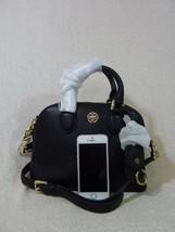 NWT Tory Burch Black Pebbled Mini Robinson Dome Cross Body Bag  - $395 image 2