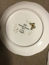 """Set of 2 Lenox Butterfly Meadow Monarch 9 1/4"""" Luncheon Plates image 4"""