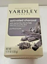 (1) Yardley Activated Charcoal Moisturizing Bath Bar-Made in USA-Paraben... - $4.99