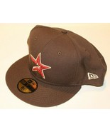 MLB Houston Astro New Era 59FIFTY Fitted Brown With Orange Baseball Hat ... - $49.99
