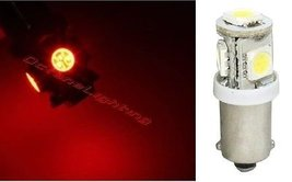 OCTANE LIGHTING (1) 55-72 Chevy Red 5-Led Inside Dash Panel Cluster Gauge Glove  - $2.92