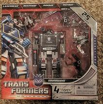 Transformers SDCC Reissue G1 SOUNDWAVE w/ 4 cassette tapes Ravage Ratbat... - $193.49