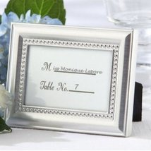 Beautifully Beaded Photo Frame/Placeholder As seen in the hit movie 27 D... - $55.70
