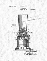 Beverage Mixer Patent Print - Gunmetal - $7.95+