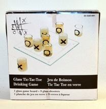 Shot Glass Tic-Tac-Toe Drinking Game - $3.93