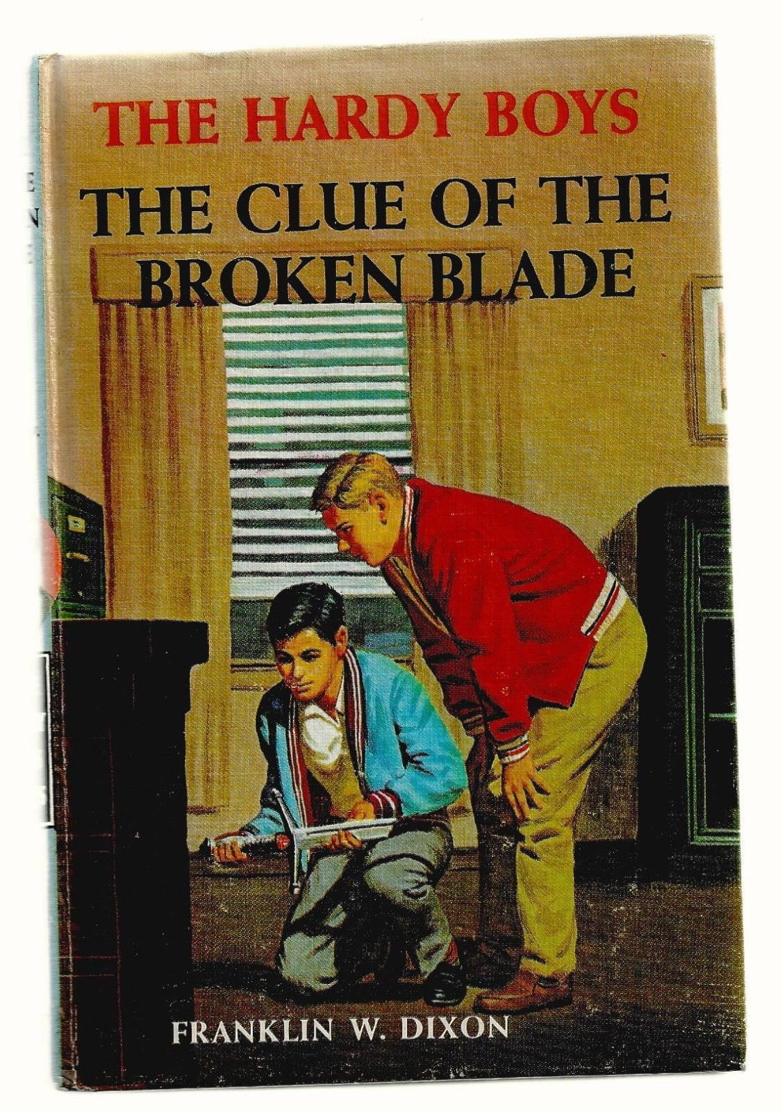 Primary image for Hardy Boys  THE CLUE OF THE BROKEN BLADE  1ST picture cover EX++ 1942