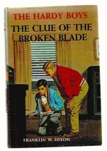 Hardy Boys  THE CLUE OF THE BROKEN BLADE  1ST picture cover EX++ 1942 - $12.60