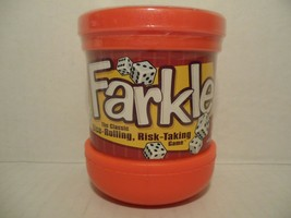 NEW! 2008 FARKLE The Classic Dice-Rolling, Risk-Taking Game PATCH PRODUC... - $16.82