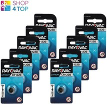 10 Rayovac CR1220 Lithium Battery 3V Cell Coin Button Watch Exp 2023 38 M Ah New - $12.76