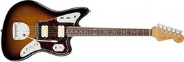 Fender Kurt Cobain Jaguar NOS 3 Tone Sunburst Solid-Body Electric Guitar - $2,348.24