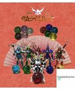 Ronin Warriors Yoroiden Samurai Troopers Kayura Kristallkugeln Base Stan... - $11.99+