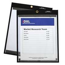 C-Line 9 x 12 Inches Clear on Both Sides Magnetic Stitched Shop Ticket H... - $37.62
