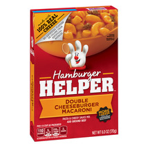 Hamburger Helper Double Cheeseburger Macaroni Hamburger Helper 6 Oz - $2.50