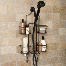 Hanging Shower Caddy Oil Rubbed Bronze Wall Hang Bathroom Dorm Shelf Soa... - $64.97