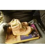 7 size 5C Nike Jordan 7c herache place girl shoes pink brown WHITE gold ... - $58.44