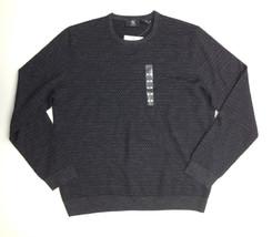 Calvin Klein Quarter Long Sleeve Merino Wool Sweater, Charcoal, Size XL - $29.69