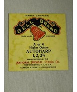 Bell brand AutoHarp Strings A or 6 higher octave 1, 2, 2 3/4 (a12-16) - $14.85