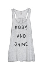 Thread Tank Rose And Shine Women's Sleeveless Flowy Racerback Tank Top S... - $24.99+