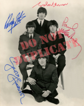 The Beatles - Autographed 8x10 Photo - Free shipping - $19.99