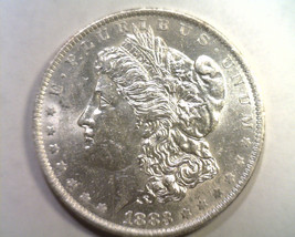 1883-O MORGAN SILVER DOLLAR CHOICE ABOUT UNCIRCULATED+ CH AU+ NICE ORIGI... - $48.00