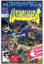 Nightstalkers Issue #1 NM Rise of the Midnight Sons Ron Garney Marvel 1992 - $5.50