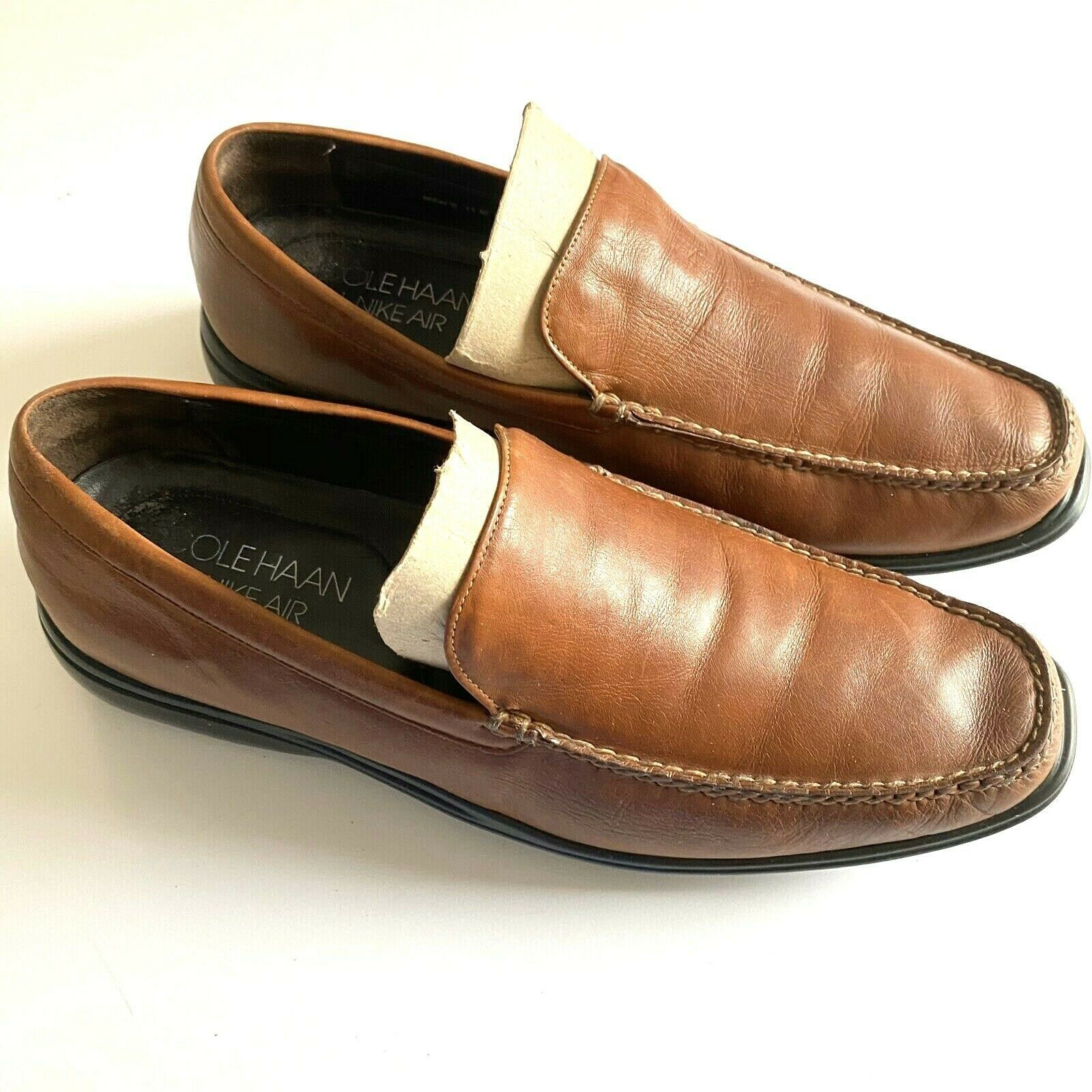 Primary image for Cole Haan Air Brown Leather Loafers Shoes Mens Sz US 11 M EU 44-45 C08204 X KO9