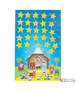 Nativity Advent Calendar Sticker Scenes - $15.25