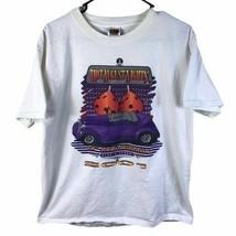 Hot August Nights T-Shirt Large Short Sleeve Mens Reno Classic Cars Vtg ... - $27.88