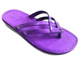 Leather Sandals for Women QUADRO by SANDALIM Biblical Greek Roman Sandals - $39.83 CAD+