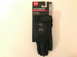 Under Armour UA Clean Up YLG Youth Large Black Baseball Gloves 1299531 - $19.32