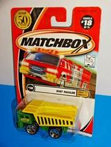 Matchbox 2002 Build It Right! Series #18 Dirt Hauler Green & Yellow Dump Truck - $4.00