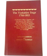 YORKSHIRE STAGE 1766-1803 A CALENDAR OF PLAYS CAST LISTS LINDA FITZISMMONS - $49.95