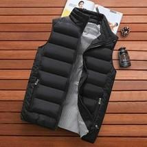 Clothing Vest Jacket Autumn Warm Sleeveless Jacket Male Winter Casual Wa... - $42.51