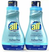 (2) All w/ Stainlifters Fresh Scent Clean Essentials No Sulfate Detergen... - $29.69