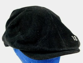 Lucky Brand Vintage Inspired 13 Black Corduroy Driving Newsboy Cap Hat S... - $33.99