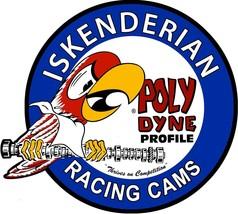 Ed Iskenderian Racing Cams Polydyne Profile Vintage Plasma Metal Sign - $49.95