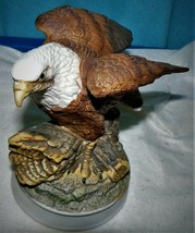 Porcelain Eagle Birds In Flight Americana Collection Limited Series Roya... - $22.96