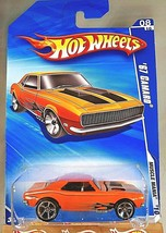 2010 Hot Wheels #86 Muscle Mania 8/10 '67 CAMARO Orange Variant w/Chrome... - $12.00