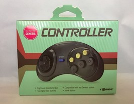 NEW SEGA GENESIS GAME CONTROLLER PAD With 6 BUTTON and GUARANTEE - $5.44