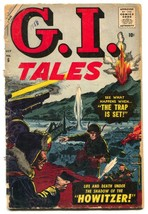 G.I. Tales #6 1957- Final issue- incomplete - $22.70