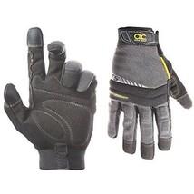Mens Waterproof Insulated Winter Warm Work Gloves Heavy Grip Medium Blac... - $14.55