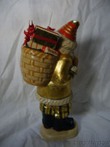 Vaillancourt Folk Art Santa Delivery Golden Gifts Personally Signed by Judi image 3