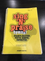 Song N Praise Hymnal Round Note Sheet Music - $19.28