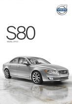 2015.5 Volvo S80 sales brochure catalog folder US T5 T6 AWD - $7.00