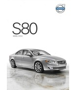 2015.5 Volvo S80 sales brochure catalog folder US T5 T6 AWD - $7.00