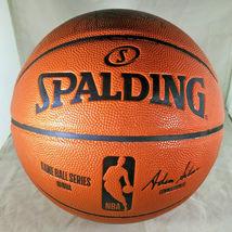 KYRIE IRVING / BROOKLYN NETS / AUTOGRAPHED FULL SIZE NBA LOGO BASKETBALL / COA image 3