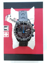 Tissot PRS 516 Chronograph Black Carbon Dial Men's Watch T100.417.37.201.00 - $369.98