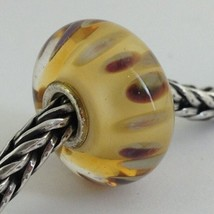 Authentic Trollbeads Murano Glass Drifting Seeds (E) Bead Charm, 61406 New - $24.00